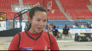 Women wheelchair basketball teams compete in Thailand [Video]