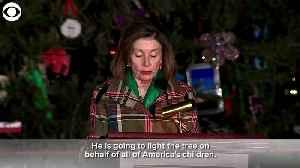 News video: Capitol Christmas tree lighting