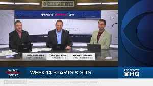 Fantasy Football Today Start & Sit Week 14 [Video]