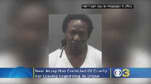 New Jersey Man Who Left Caged Dog To Drown Convicted On Cruelty Count [Video]