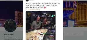 Lucky winner at Paris Las Vegas [Video]