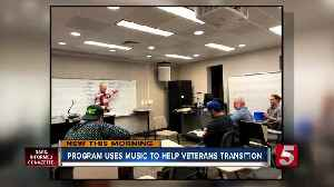 Power of music helps veterans transition back to civilian life [Video]