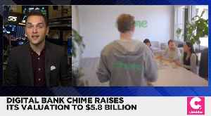 Digital Bank Chime Raises Evaluation to $5.8 Billion [Video]
