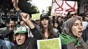 Algerians seeking old guard's exit protest against upcoming poll [Video]