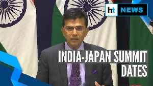 India-Japan Summit from December 15-17: Raveesh Kumar [Video]