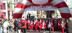 Great Santa Run in Las Vegas [Video]