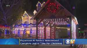 Texas-Sized Expansion At Santa's Wonderland Complete Just In Time For Christmas [Video]