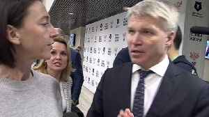 Russian minister dodges BBC questions on doping [Video]