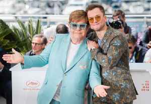 Taron Egerton 'fell in love' with Elton John during Rocketman [Video]