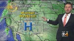 Warmer Weather Arrives Tomorrow [Video]