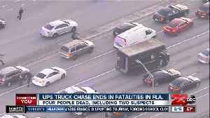 News video: UPS truck chase ends in fatalities in Florida