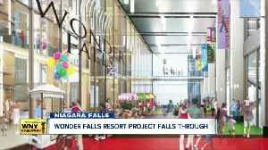 The Wonder Falls Resort, a Buffalo Billion project, comes to a halt due to 'economic feasibility' [Video]