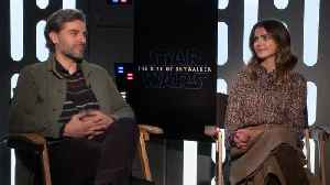 News video: 'Star Wars: The Rise Of Skywalker' Cast Reacts To Baby Yoda