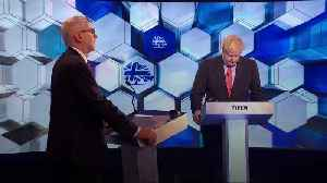 News video: Corbyn and Johnson clash over anti-Semitism and Islamophobia in leaders' debate