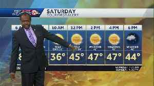 Mostly sunny, milder on Saturday [Video]