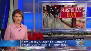 Plastic Shopping Bags Could Be Banned In N.J. [Video]