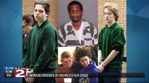Worcester suspects plead not guilty [Video]