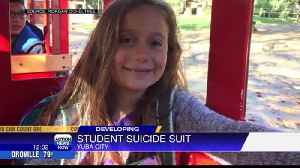 Mom sues Yuba City Middle School for failing to report her daughter's plan to commit suicide [Video]