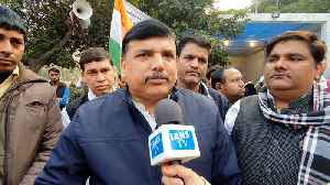 AAP MP Sanjay Singh speaks on Hyderabad encounter and Unnao incident [Video]