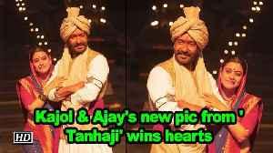 Kajol & Ajay's new pic from 'Tanhaji' wins hearts [Video]