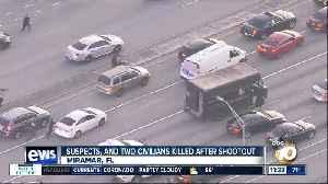 Shootout over stolen UPS truck [Video]