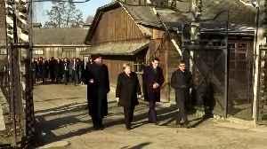 Angela Merkel visits the Auschwitz-Birkenau memorial [Video]