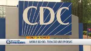 Tobacco use has doubled in Cuyahoga County middle school students since 2016 [Video]