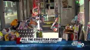"""Help """"Fill the Streetcar"""" with toys for Miracle on 31st Street! [Video]"""