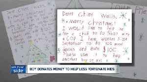 Ravenna boy makes $100 Christmas donation to police department [Video]