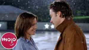 Top 10 Most Romantic Moments in Christmas Movies [Video]