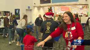 Seneca High School students take younger kids out for a shopping field trip [Video]