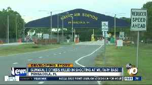 Gunman, 3 others killed on base [Video]