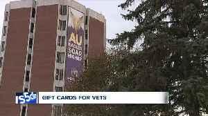 Ashland Univ. alumna pays for gift cards for 186 student veterans [Video]