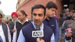 If accused tried to escape, I stand with police Gautam Gambhir on Telangana encounter [Video]