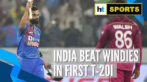 News video: 'Kohli carried on & finished game for India': KL Rahul after win over Windies