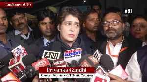 Women should snatch power from men Priyanka Gandhi on rising crimes [Video]