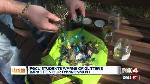 FGCU student warns of glitter's impact on our environment [Video]