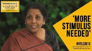 Does economy need fresh stimulus? Watch FM Nirmala's reply at #HTLS2019 [Video]