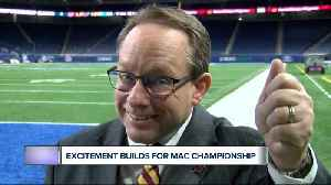 CMU president helps build excitement for MAC Championship [Video]