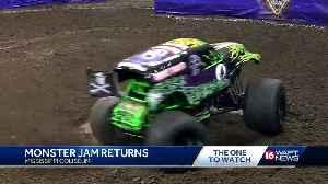 Monster Jam returns to Jackson [Video]