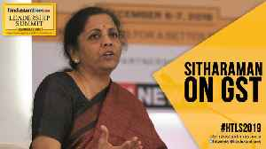 #HTLS2019: 'Will honour GST compensation to states': Nirmala Sitharaman [Video]