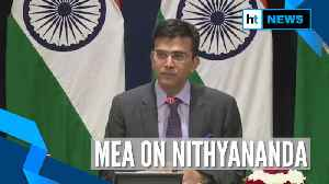 News video: Cancelled Nithyananda's passport, rejected application for new one: MEA