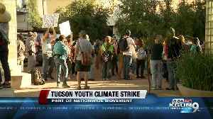 Hundreds take part in Tucson Youth Climate Strike [Video]