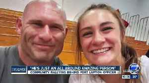 'An all-around amazing person': Community rallies to help Ft. Lupton officer injured in shooting [Video]