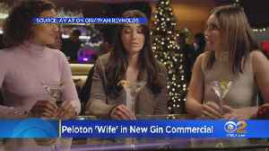 'Bike Not Included': Ryan Reynolds Hires Woman From Peloton Ad For Gin Label [Video]
