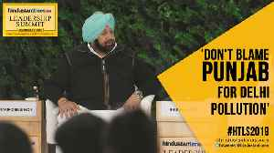 'Punjab not to blame for Delhi pollution': Amarinder Singh at #HTLS2019 [Video]