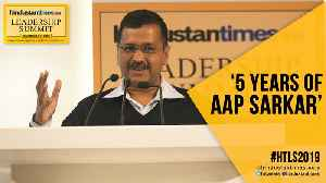 HTLS 2019: Arvind Kejriwal lists achievements ahead of Delhi polls [Video]