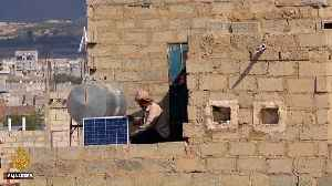 People in Yemen go solar amid fuel shortages [Video]