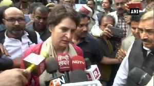 Priyanka Gandhi slams CM Yogi says UP no place for women [Video]