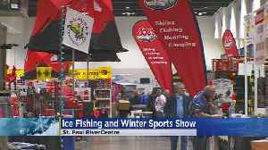 Ice Fishing And Winter Sports Show Continues In St. Paul [Video]